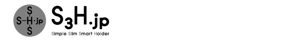 「NEWS」の記事一覧 | ニュース&コラム | 新発想のマネークリップ【S3Hカードマネーホルダー】